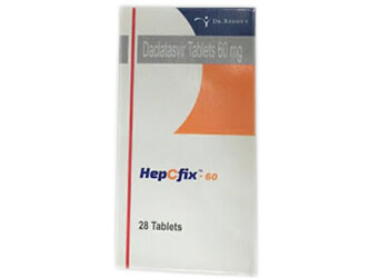HepCfix 60mg Dr. Reddy Daclatasvir Tablets