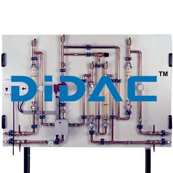 Four Way Mixing Valve Training Panel Unit