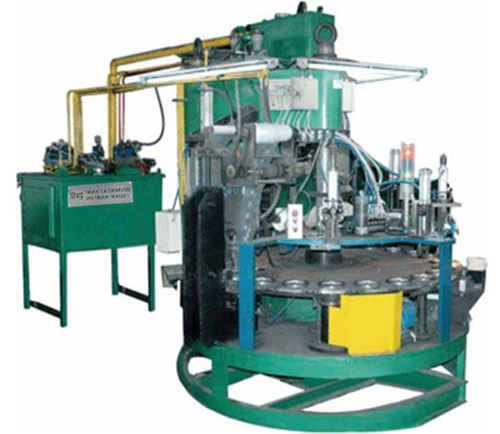 Semi-Automatic Cutting Disc Making Machine