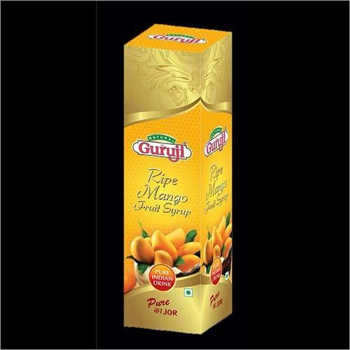 Ripe Mango Fruit Syrup