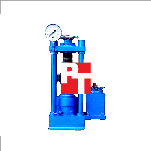COMPRESSION TESTING MACHINE - HAND OPERATED PILLAR