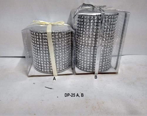 Designer Piller Candles