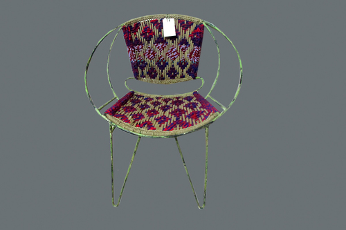 Rope Iron Chair