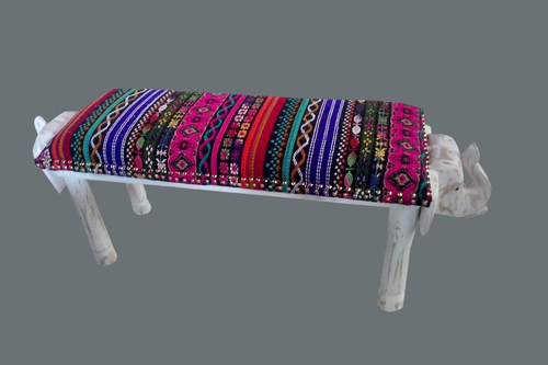 Handicrafted Wooden Bench