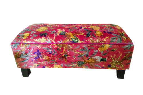 Upholstered Canvas  Bench