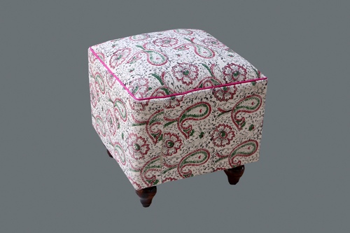 Upholstered Pouf