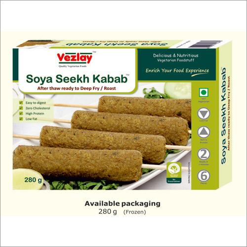 Soya Veg. Seekh Kabab