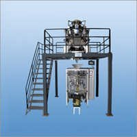 Pneumatic Collar Type Packing Machine With Multihead Load Cell