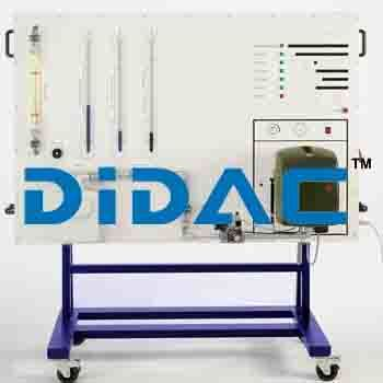 Forced Air Gas Burner Training Panel