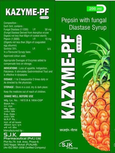 Diastase Syrup
