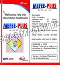 Mefenamic Acid with Paracetamol Suspension