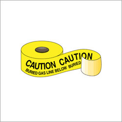 Caution Buried Gas Line Below