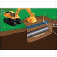 Caution Water Pipeline Below Tape