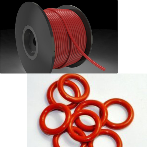Silicone O-Ring and O-Ring Cord