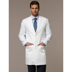 Linen Clothing Doctor Coat
