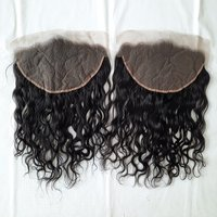 Straight transparent Hd lace Frontal