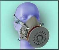 3M Half Face Respiratory Mask