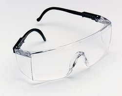 1709in  With Clear Lens Hardcoat With Adjustable Temples