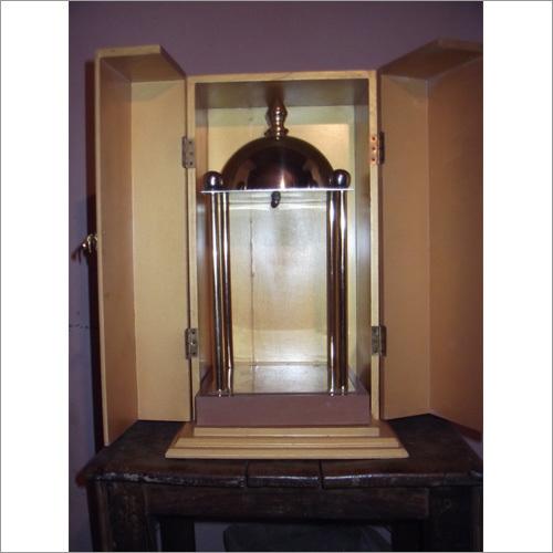 Wooden Box Brass Temple