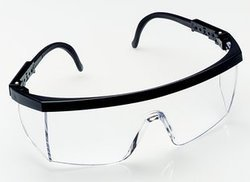 1710in With Clear Lens Hardcoat With Adjustable Temples