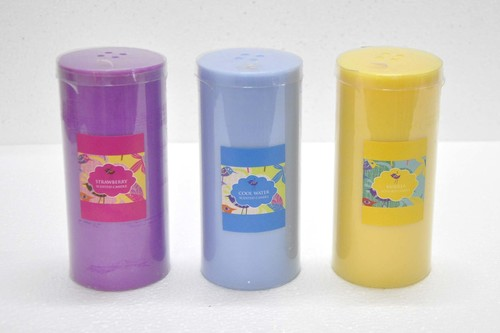 Decoractive Pillar Candles