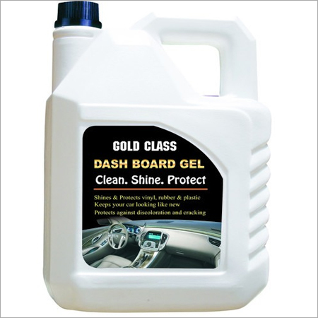 Gold Dashboard Gel