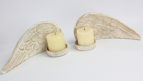 Angel Wings Candle Stand