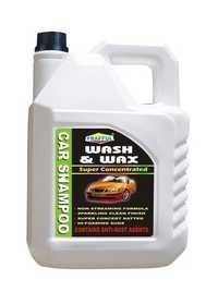 Wash & Wax Car Shampoo