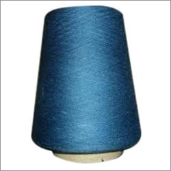 靛蓝被洗染的牛仔布毛线
