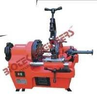 POWER DRIVEN PIPE THREADING MACHINE
