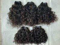 Natural Curly Human Hair, Tangle And Shedding Free