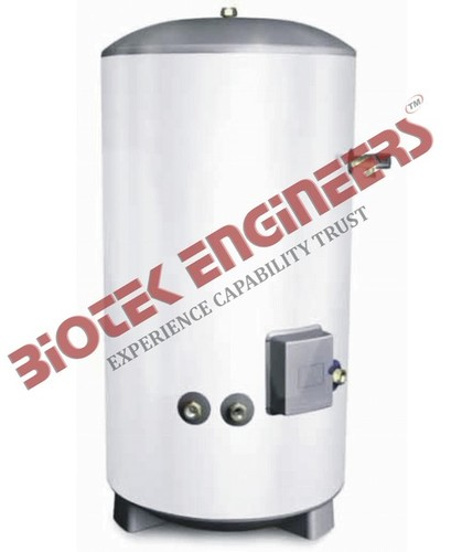 HOT WATER CYLINDER WITH IMMERSION HEATER - BIOTEK ENGINEERS, Biotek ...