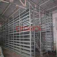 Two Tier Slotted Angle Storage