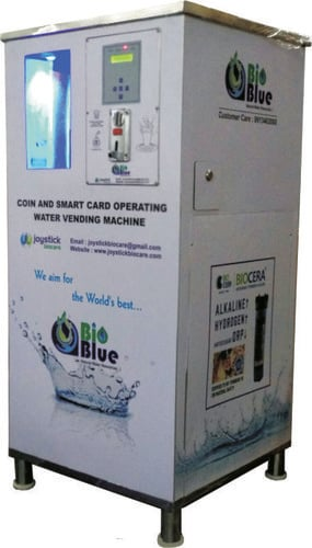 Coin & Card Operated Water Vending Machine