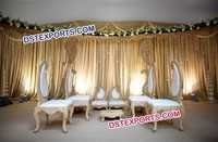 Wedding Paisley Mandap Chairs
