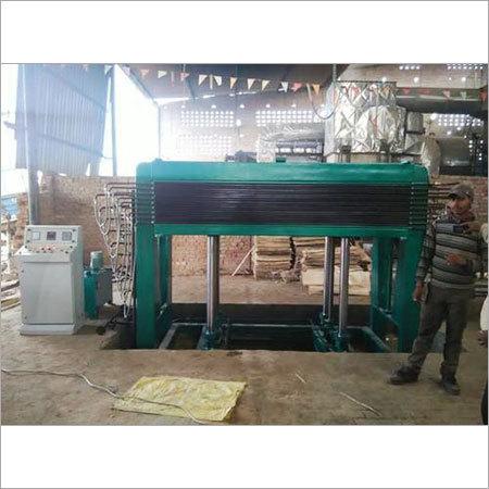 Core Dry Press Plywood Machine