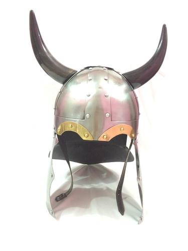 CORINTHIAN Helmet with real horns
