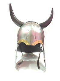 CORINTHIAN Helmet with real horns