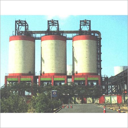 Ash Silos Power Plant