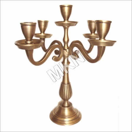 Decorative Aluminium Candle Stand