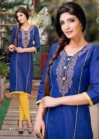 Pure Cotton Kurtis Suppliers