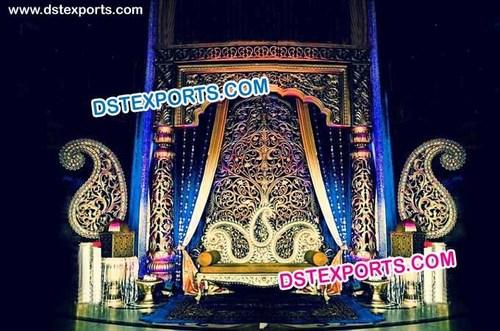 Royal Indian Wedding Stage