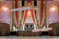 Royal Wedding Decorated Stage Set