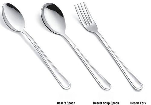S S DESERT SPOON , S S DESERT SOUP SPOON & S S DESERT FORK