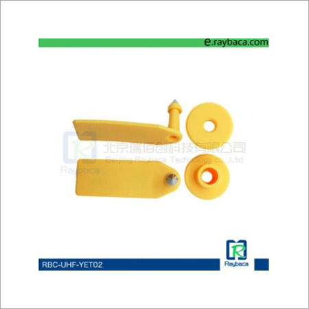 UHF Electronic RFID Ear Tag for Sheep