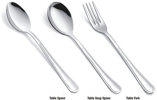 S S TABLE SPOON , S S TABLE SOUP SPOON , S S TABLE FORK