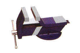 ALL STEEL BENCH VICE