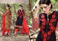 Lala Azure Cotton Suit
