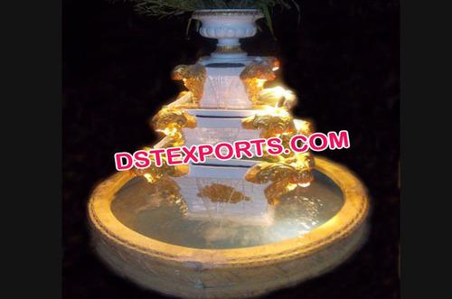 Fiberglass Water Fall Fountain