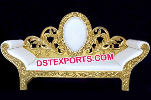 Latest Design Brass Metal Sofa Set